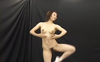 Japanese Bald Ballet Dancer Squirts Milk Relish in Their way Jugs